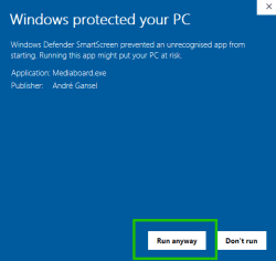 windows defender smartscreen 002 EN 250x236 - Mediaboard - Documentation