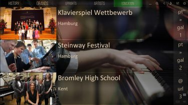 Mediaboard Content Package - Steinway Education