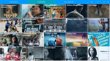 Mediaboard Content Package - UNICEF (Campaigns)